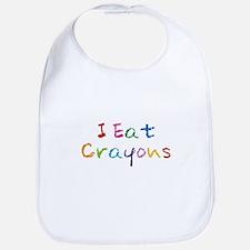 I Eat Crayons Bib