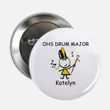 "Drum Major - Katelyn 2.25"" Button"