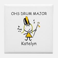 Drum Major - Katelyn Tile Coaster
