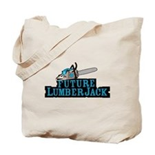 Future Lumberjack Tote Bag