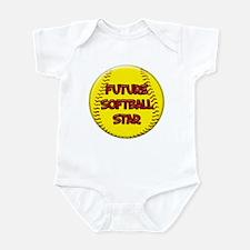 Future Softball Star Infant Bodysuit