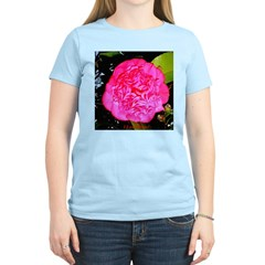 I Love You Chinese Rose Women's Pink T-Shirt