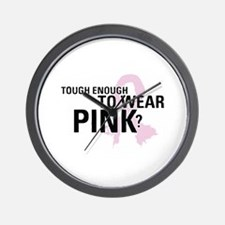 Cute Male breast cancer cause Wall Clock