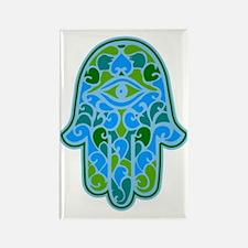 Artsy Hamsa Rectangle Magnet (10 pack)