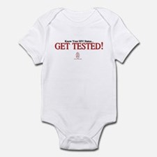 GET TESTED! Infant Bodysuit