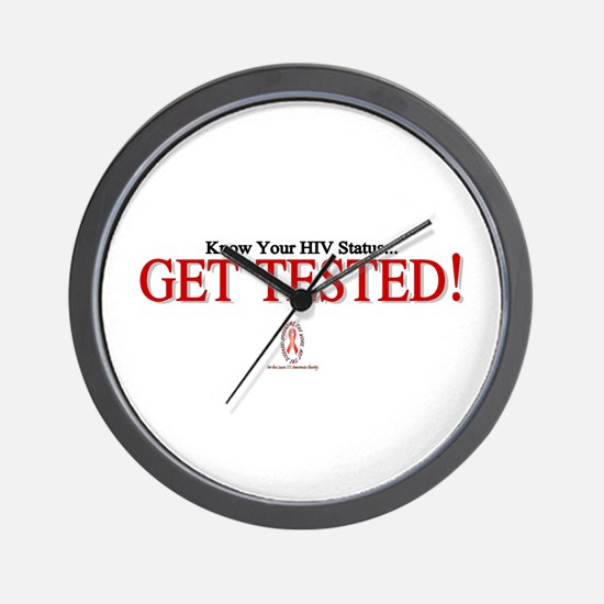 GET TESTED! Wall Clock