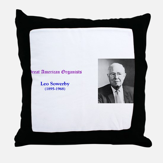 Leo Sowerby Throw Pillow