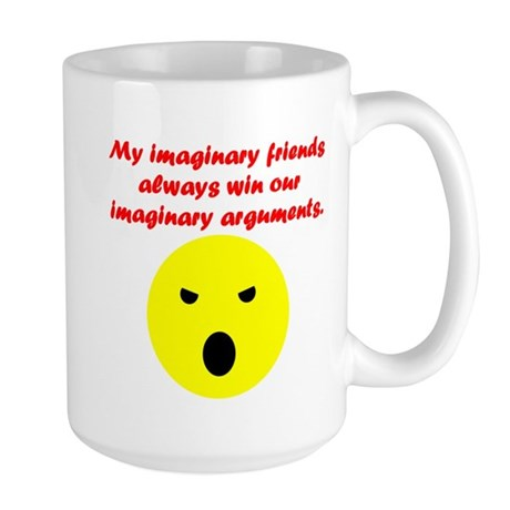 Imaginary Arguments Large Mug