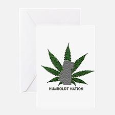 Humboldt Nation Greeting Card