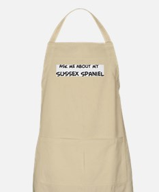 Ask me: Sussex Spaniel  BBQ Apron