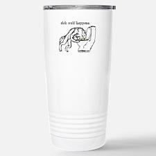 Sick Wolf Stainless Steel Travel Mug
