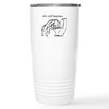 Sick Wolf Travel Mug