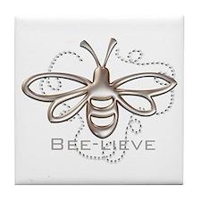 Cute Bees Tile Coaster