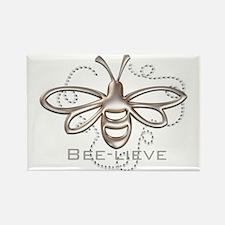 Unique Believe Rectangle Magnet