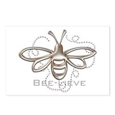 Cute Bees Postcards (Package of 8)