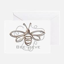 Cute Bee Greeting Card