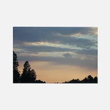 Pastel Sunset Rectangle Magnet