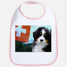 Swiss Berner Puppy Bib