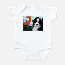 Swiss Berner Puppy Infant Bodysuit