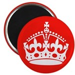 Red Crown Magnet