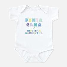 Punta Cana Island Colors Block Infant Bodysuit