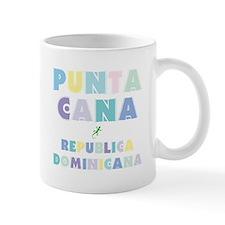 Punta Cana Island Colors Block Mug