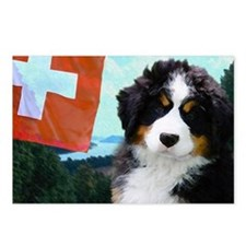 Swiss Berner Puppy Postcards (Package of 8)