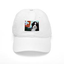 Swiss Berner Puppy Baseball Cap