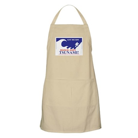 GET READY FOR THE FLOOD BBQ Apron