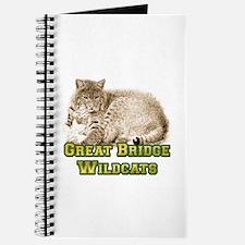 Great Bride Wild Cat Journal