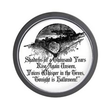 Voices Whisper Wall Clock