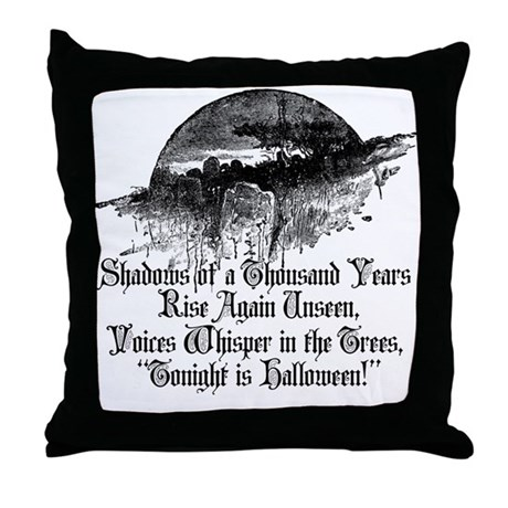 Voices Whisper Throw Pillow
