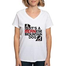 It's a BERNese Mountain Dog Shirt
