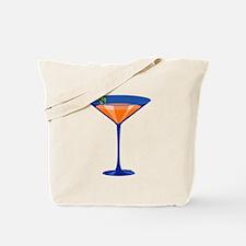 Gator Martini Tote Bag