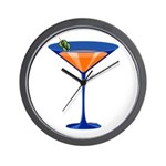 Gator Martini Wall Clock