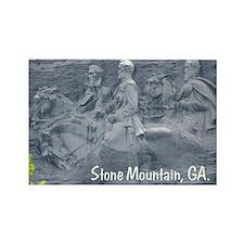 Stone Mountain, GA, Rectangle Magnet (100 pack)