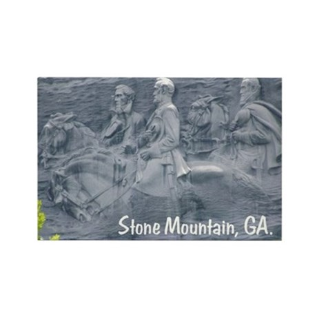 Stone Mountain, GA, Rectangle Magnet (100 pack)