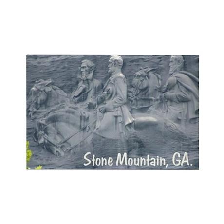 Stone Mountain, GA, Rectangle Magnet (10 pack)