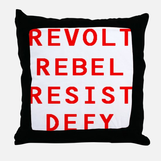 RRRD Throw Pillow