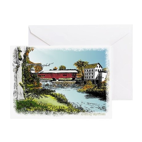 Bridgeton Bridge Greeting Card