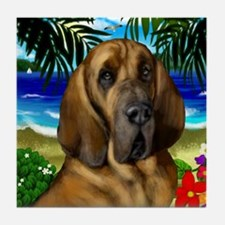 Bloodhound Beach Tile Coaster