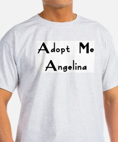 Adopt Me Angelina Ash Grey T-Shirt