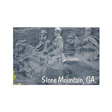 Stone Mountain, Georgia, Rectangle Magnet