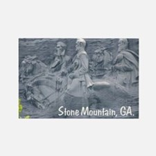 Stone Mountain, Georgia, Rectangle Magnet