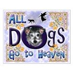 Dogs Go To Heaven Small Poster
