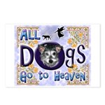 Dogs Go To Heaven Postcards (Package of 8)