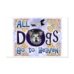 Dogs Go To Heaven Mini Poster Print
