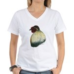 Mapuche Rooster Women's V-Neck T-Shirt