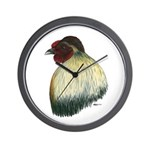 Mapuche Rooster Wall Clock