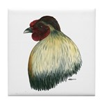 Mapuche Rooster Tile Coaster